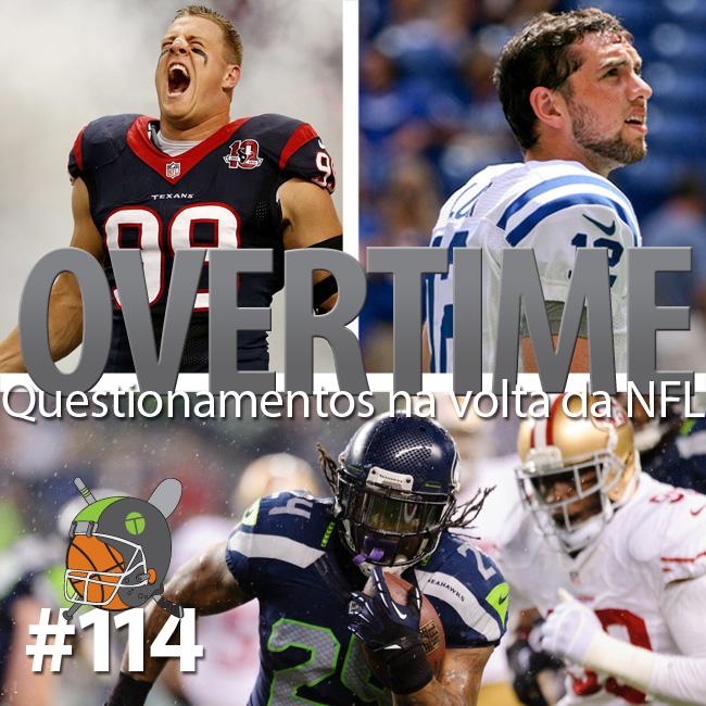 Overtime 114 – Questionamentos na volta da NFL