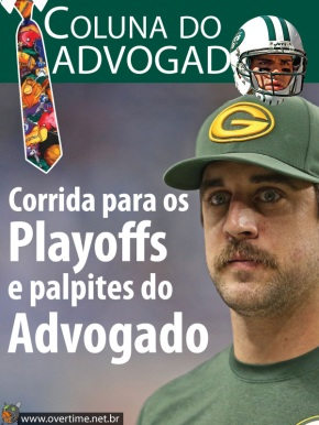 Corrida para os Playoffs e palpites do advogado [NFL]
